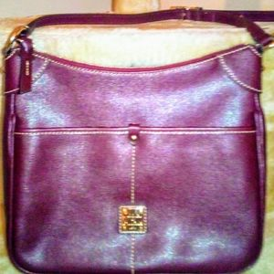 Like new Dooney and Burke Burgundy Handbag!